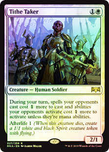 Tithe Taker FOIL Ravnica Allegiance NM-M White Rare MAGIC MTG CARD ABUGames