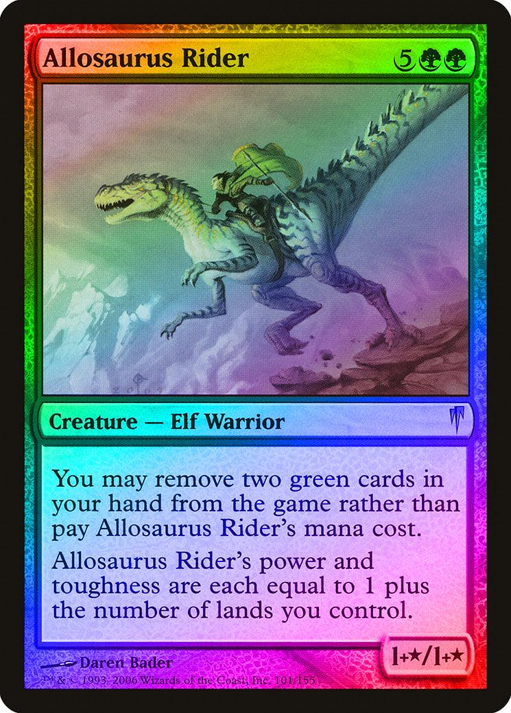 MTG MAGIC GATHERING DOMINARIA 4x Territorial Allosaurus