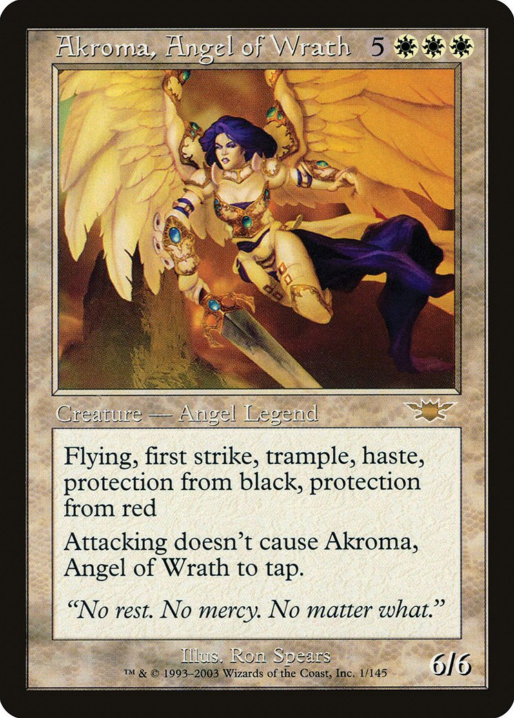 Magic The Gathering ~ 1x Wrath of God ~ REVISED ~  M//NM