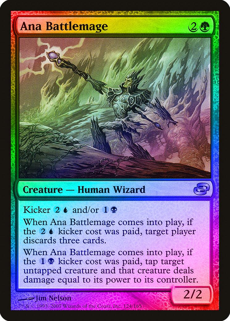 Ana Battlemage FOIL Planar Chaos PLD Green Uncommon MAGIC MTG CARD ABUGames