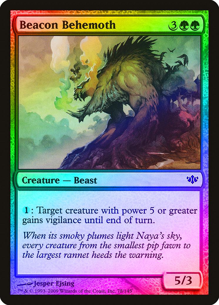 * English Conflux 1X Ancient Ziggurat MTG CARD