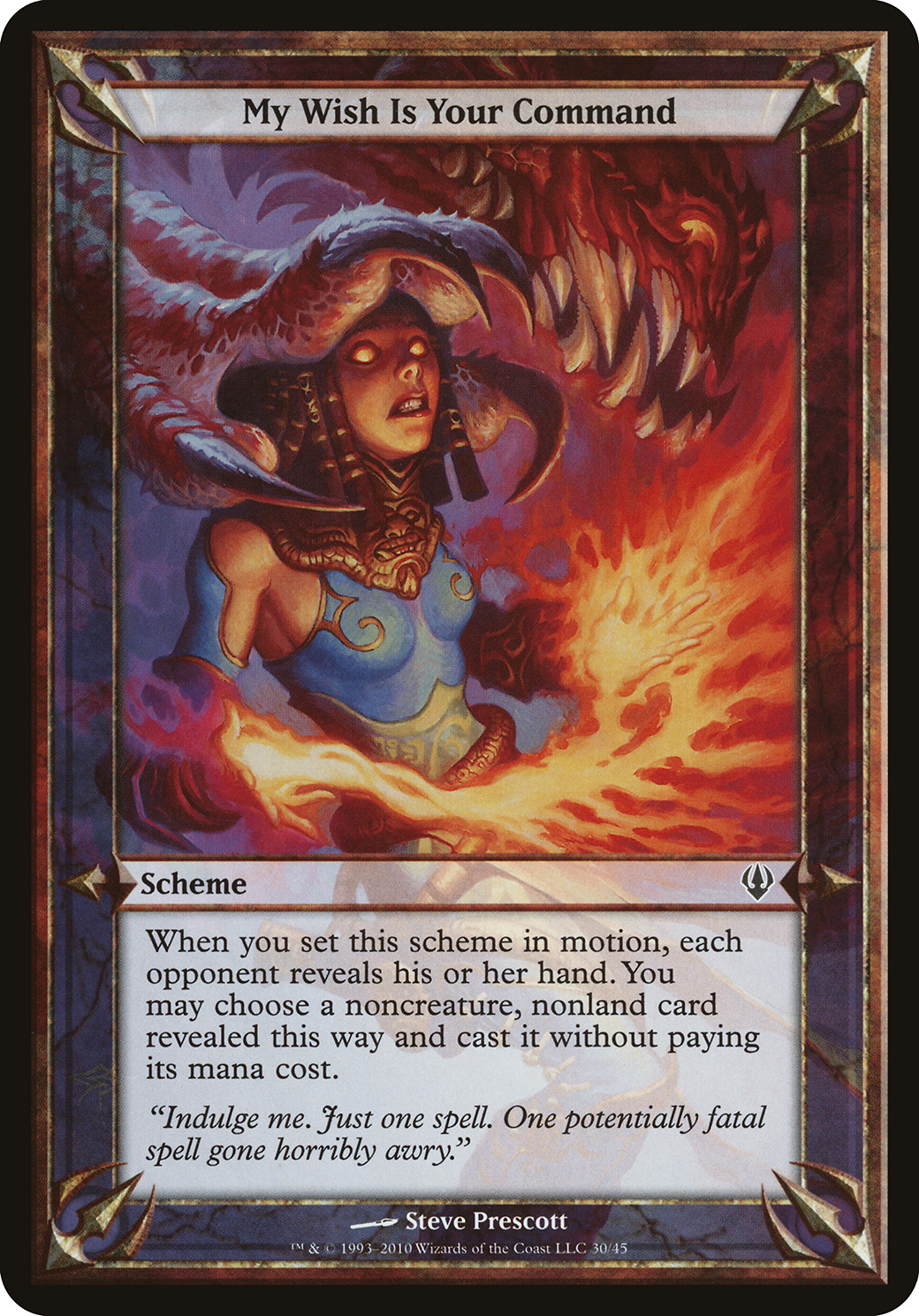 I Bask in Your Silent Awe Archenemy PLD Common MAGIC GATHERING CARD ABUGames