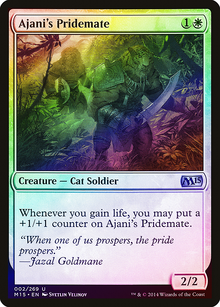 Cat Monk Com 4 x PRIDE GUARDIAN NM mtg M12 White