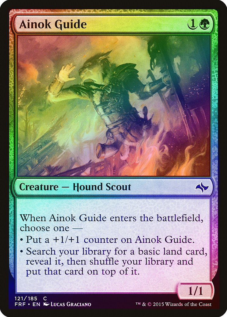 119//185 - Fate Reforged 4 x Abzan Beastmaster Uncommon