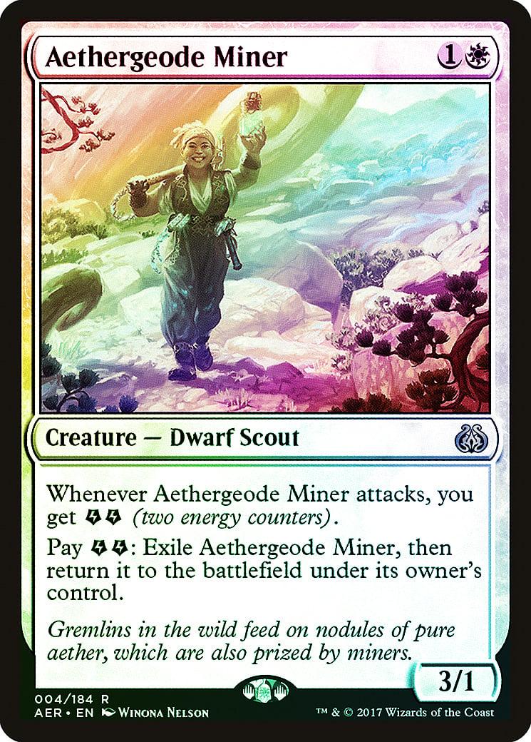MTG Aether Revolt NM Card Release the Gremlins
