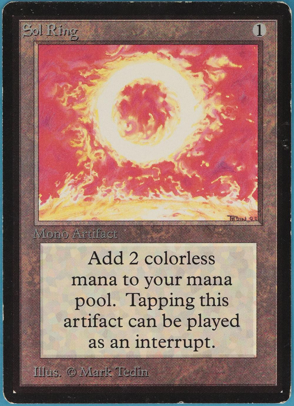Sol ring beta pld-sp artefakt gelegentlich magie sammeln card (id   60543) abugames