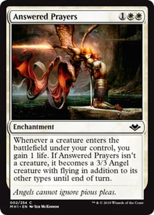 Piety Arabian Nights NM-M White Common MAGIC GATHERING CARD ABUGames a Dark